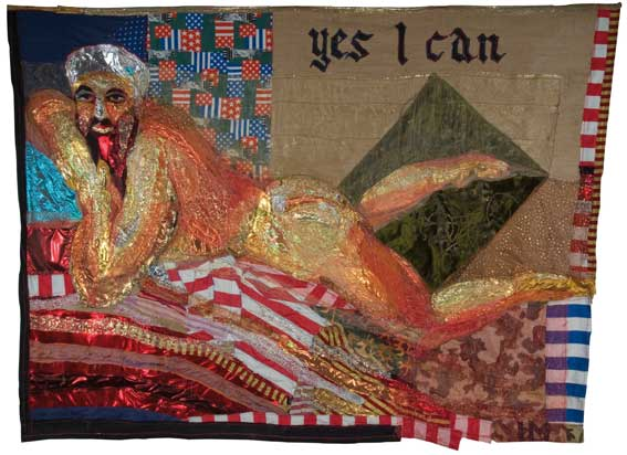 Hassan Musa, Great American Nude N.4 (Yes I can)